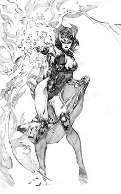 westcoastavengers:   Scarlet Witch by Philip Tan