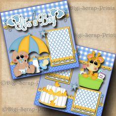 Known Scrapbook Libretas Large Scrapbook, Paper Bag Scrapbook, Album Scrapbook, Baby Scrapbook Pages, Baby Boy Scrapbook, Birthday Scrapbook, Scrapbook Page Layouts, Scrapbook Supplies, Scrapbook Frames