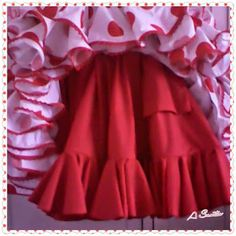 El Blog De Auxi Santos: Falda enagua para el traje de flamenca