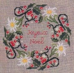 Noel 2011 – French Needlework Kits, Cross Stitch, Embroidery, Sophie Digard – The French Needle