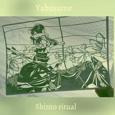 #切り絵 #handcut ・ ・ photo by Glenn waters arranged and cut by me ・  in the Japanese Kamakura period, #archery on horseback, called 'yabusame'  these horses run full speed ・ Shinto ritual ・ ・ やぶさめは、ニーグリップ半端ないでしょーね!!Knee grip so hard?? ・ 写真を切り抜いてみた 楽しくなかったワラワラ ・  #流鏑馬 #切り絵 #YABUSAME #kneegrip #handcraft #paperArt #paperCraft #paperCutOut #papercutting #horse #shinto #ritual #bow #girl #japaneseculture #japan #japanesque #artoninstagram#papercutart#art#picture