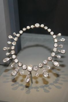 Diamond necklace. Given by Napoleon to his second empress, Marie-Louise.