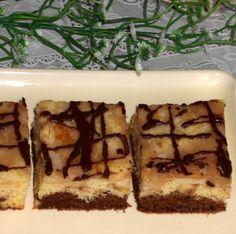 Jablkové piškotové rezy (fotorecept) - obrázok 8 Desserts, Food, Basket, Tailgate Desserts, Deserts, Eten, Postres, Dessert, Meals