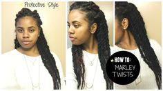 Easy How To: Chunky Marley Twists