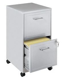 CommClad 2 Drawer Mobile Filing Cabinet & Reviews | Wayfair