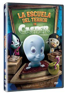 Diseño publicitario de DVD's - Stop Diseño Gráfico - Diseño de La escuela del terror de Casper.