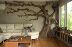 tree_room, carved a tree from a tree, Chrysaliswoodworks.com