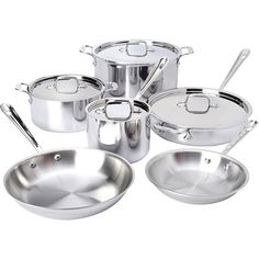 Thinking about a cookware upgrade? This @allclad 10pc Stainless Set is on SALE!! With All-Clad's signature tri-ply construction for even heat distribution and superior cooking performance, they also carry a lifetime guarantee and are compatible on all heat sources (yes, even induction!) Reg $900, now on for $759!! #allclad #sale #cookware #wedding . . . . . . . . . . .  #maisoncookware #wishlist #kitchentools #chef #ycd #foodie #food #explorenanaimo #hungry #kitchenstore #kitchenware  #cook…