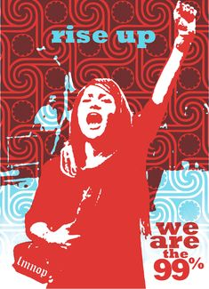 Rise Up # occuprint: posters from the occupy movement