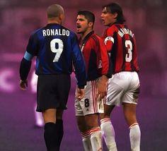 Ronaldo vs Gattuso & Maldini #madonina