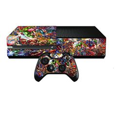 Xbox one Console Sticker Skin Free wireless by PS4Skins on Etsy