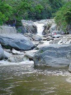 Zacapa Guatemala- we ran to these waterfalls one morning!  Passed some men carrying around machetes- not in Kansas anymore!