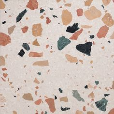 One of the materials which I have embraced this year is terrazzo. Part of the reason is that terrazzo reminds me of Italy, where it was invented in the Century; terrazzo is widely used in Ital… Concrete Tiles, Cement, Australian Interior Design, Italian Tiles, Tile Crafts, Terrazzo Flooring, Brainstorm, Elle Decor, Tile Design