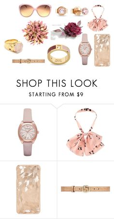 """Аксессуары"" by blondinka27 on Polyvore featuring мода, ASOS и Gucci"