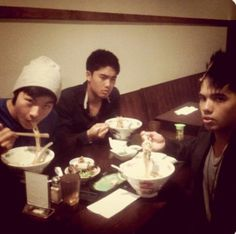 Kevjumba, D trix and Ryan