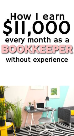 How to make money from home as an online bookkeeper. Make money online