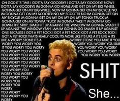Billie Joe Armstrong - Green Day She @ Jaded in Chicago 1994 Band Quotes, Band Memes, Aerosmith, Green Day Lyrics, Green Day Songs, Green Day Band, Green Day Meme, Green Day Quotes, Great Bands