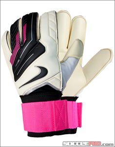 Nike GK Gunn Cut Pro Goalkeeper Glove - White with Pink Flash...$74.99