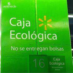 verteverde.com ¡Por que cada vez sean más las cajas que no entregan bolsas plásticas!  #reutilizar #bolsareutilizable #bolsa #bolsas #consumoconsciente