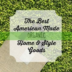 American made organic products can be a tough combo to find. We took care of it for you. Check our picks to create a healthy home and lifestyle. http://www.usalovelist.com/9-american-made-organic-products-healthier-lifestyle/?utm_campaign=coschedule&utm_source=pinterest&utm_medium=USA%20Love%20List%20(USALoveList.com%20VIP's)&utm_content=9%20American%20Made%20Organic%20Products%20for%20a%20Healthier%20Lifestyle