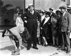 Stan Laurel and Oliver Hardy in PUTTING PANTS ON PHILLIP (1927)