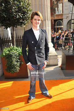 Eugene Simon attends a special preview screening of Nickelodeon's teen drama series 'House Of Anubis' Season Two at Freemasons Hall on March 11, 2012 in London, England.