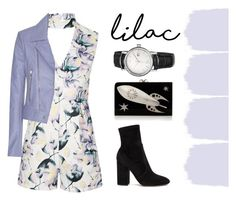Lilac dress code by margaux-hani on Polyvore featuring mode, Balenciaga, Topshop, Valentino, Charlotte Olympia and Swiza
