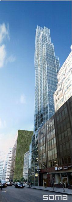 45 Park Place   203m   665ft   39fl   Ismael Leyva Architects