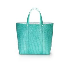 Tiffany & Co. - Avenue medium tote in Tiffany Blue® crocodile