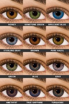 Contact Lenses 2020 – The Best Contact Lenses Ideas Are Here Colored Eye Contact Lenses, Contact Lenses For Brown Eyes, Best Colored Contacts, Prescription Colored Contacts, Natural Color Contacts, Green Contacts Lenses, Lenses Eye, Hazel Eyes, Makeup Ideas