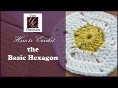 Crochet Basic Hexagon