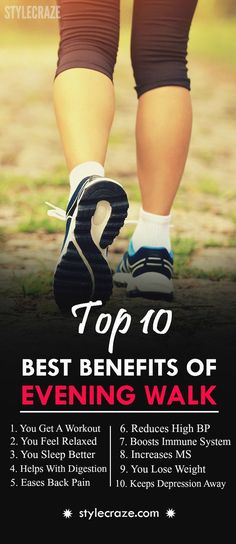 Is evening walk good for health? Walks, especially brisk ones, can have many positive effects on your health. And would you like to know what they are? Do give this post a read! #FITNESS