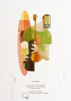 SPALLE AL MARE _1 by Fausto Montanari, via Behance