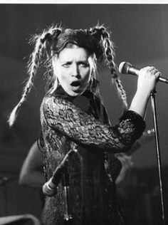 Picture of London, England - September 1978 - Lene Lovich, U. pop singer, performs live on stage. She was signed to independent label Stiff Records. stock photo, images and stock photography. Pop Singers, Female Singers, Top 20 Hits, Rip It Up, Music Pics, British Rock, The New Wave, Sound & Vision, Post Punk