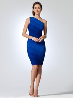 Love the ombre blue colors and the fit looks divine!