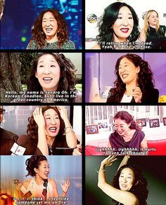 only 12 more episodes left for Sandra Oh. i am SERIOUSLY going to miss her. wish she would stay.