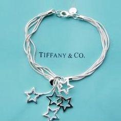 Tiffany style star bracelet