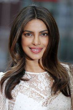 """These highlights are diffused on the ends and are hitting the points of her layers, which is nice because it shows off the shape of the haircut,"" says Robinson. Priyanka Chopra's color would work best on a medium-to-long-layered cut. ""You would ask the colorist to work with your natural color, and just highlight the midlength and ends, following the haircut."" The ash-brown base is universally flattering, but to add warmth to cooler complexions, swap the sandy highlights for caramel."