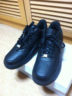 sports shoes 9b62c f5965 NIKE Air Force 1 all black