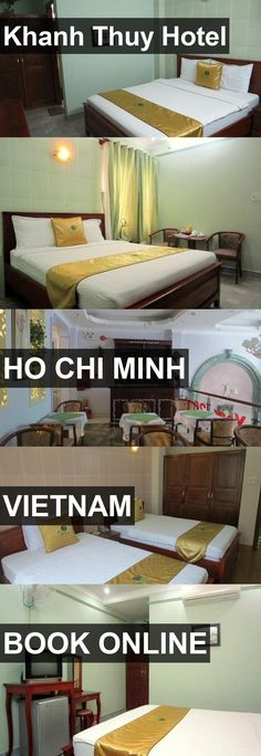 Hotel Khanh Thuy Hotel in Ho Chi Minh, Vietnam. For more information, photos, reviews and best prices please follow the link. #Vietnam #HoChiMinh #KhanhThuyHotel #hotel #travel #vacation