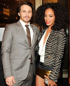 Solange Knowles James Franco Gucci GQ Party