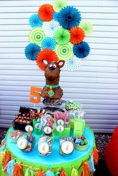 Scooby Doo Birthday Party Ideas | Photo 7 of 29 | Catch My Party