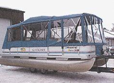 Pontoon Boat Enclosures | Pontoon Boat Full Camper Enclosure