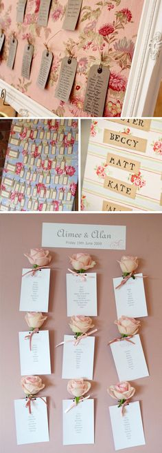 'i do' it yourself: floral seating chart