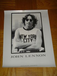 The Beatles John Lennon New York City By Bob Gruen Rare 24 x 18 Mint Poster  I am selling a large rare mint condition collection,   So please Check out my other items!   There is so much to list and I will get to it. I am not an expert but it seems to be mint.   I inherited a collection of records and posters