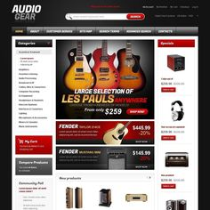 I like it how about you?   Audio Equipment Magento Theme CLICK HERE! live demo  http://cattemplate.com/template/?go=2gcrd3j  #templates #graphicoftheday #websitedesign #websitedesigner #webdevelopment #responsive #graphicdesign #graphics #websites #materialdesign #template #cattemplate #shoptemplates