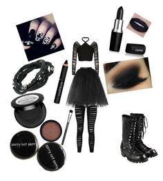 """""""It's Not A Phase..."""" by lilfemaledrizzy ❤ liked on Polyvore featuring Ballet Beautiful, Balenciaga, Boohoo, Comme des Garçons, King Baby Studio, Givenchy, MAC Cosmetics and Max Factor"""