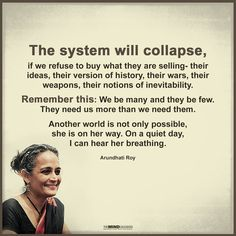 The system will collapse