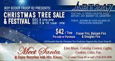 Troop 82 Christmas Tree Sale & Festival | Fundraiser
