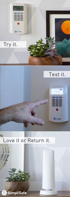 When it comes to finding home security, this is a no brainer. SimpliSafe Home Security is easy to install, less expensive than competitors and has a 60-Day Money Back Guarantee, so you can try it out at no risk to you! Even better? There's no annual contracts or hidden fees. Plus, take control of your system from anywhere in the world with SimpliSafe's smartphone app. Try it today!